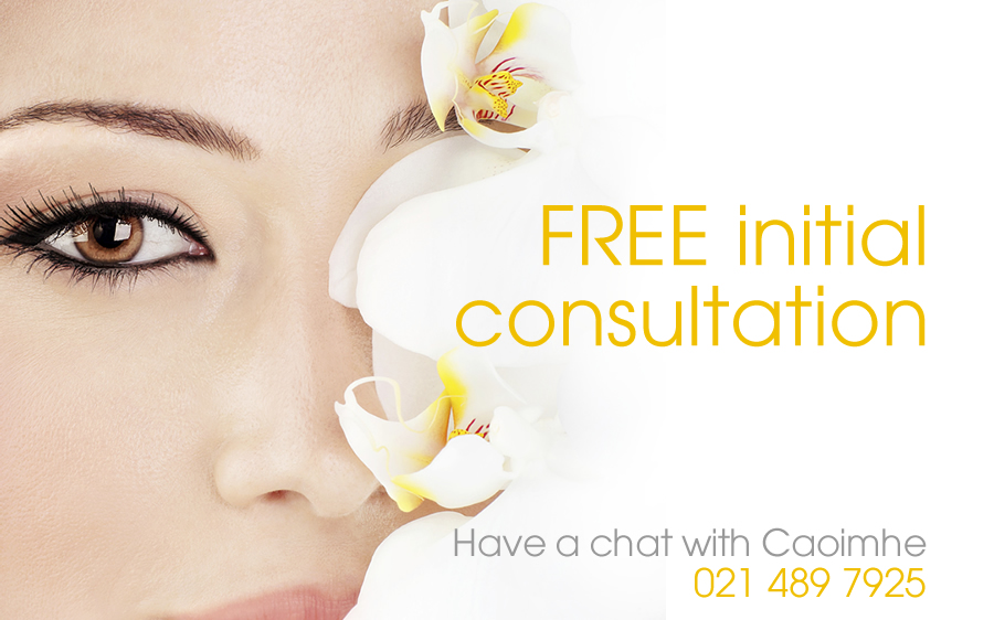 free initial consultation to remove fine lines and wrinkles in cork